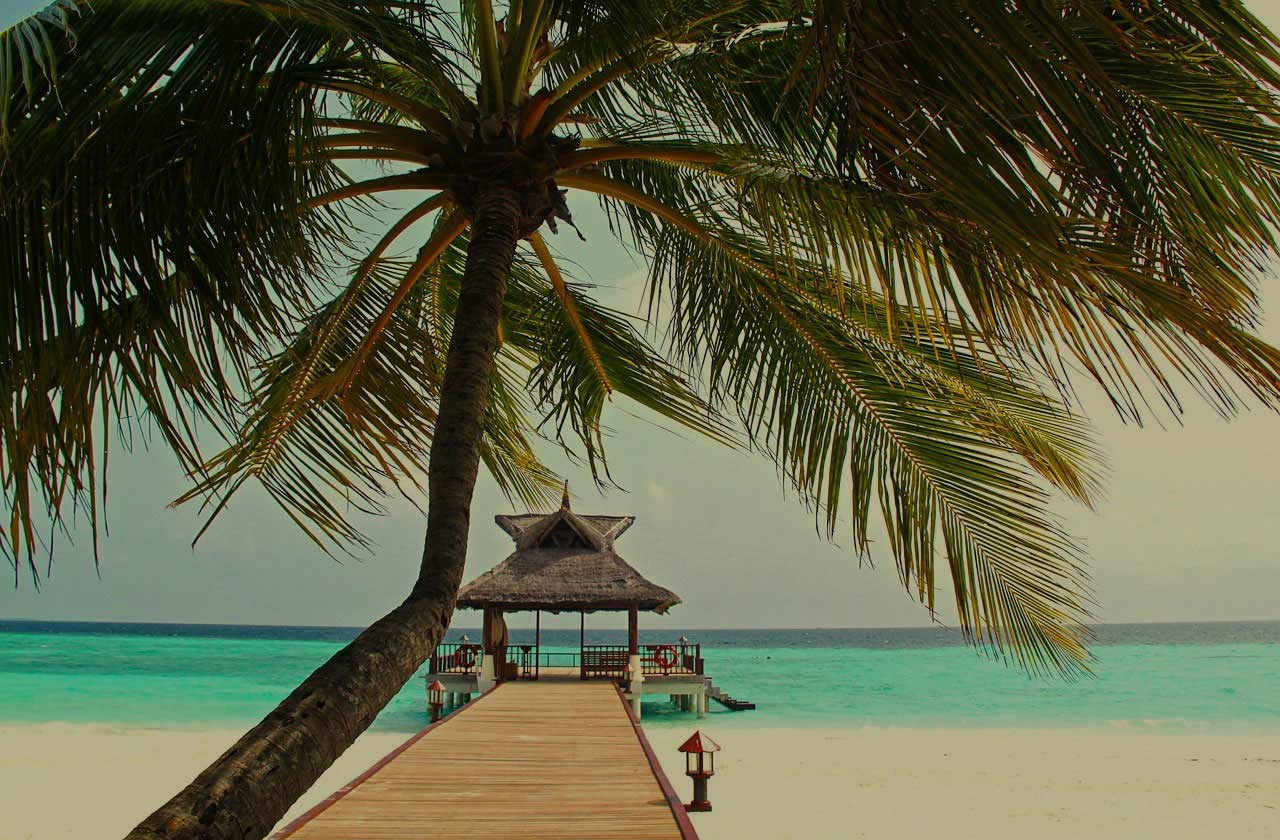 Luxury beach holiday destinations in Maldives