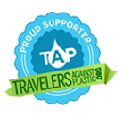 Official Member logo for Travelers Against Plastic (TAP)